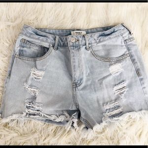 LOWEST PRICE!!! FOREVER21 High-waist Shorts